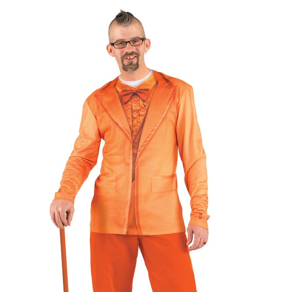 Faux Real Orange Tuxedo T-shirt