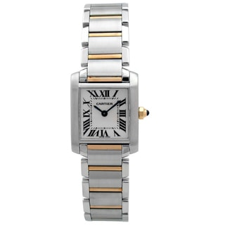 Pre-owned Women's Tank Francaise Cartier Watch