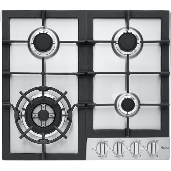 Haier Stainless Steel 24-inch Gas Cooktop