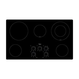 Whirlpool 36-inch Smoothtop Electric Cooktop