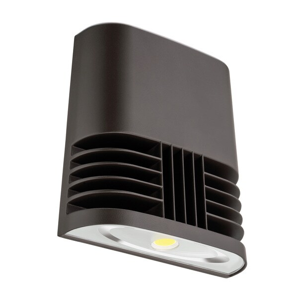 Lithonia Lighting OLWX1 LED 20W 50K M4 LED Dark Bronze Wall Pack