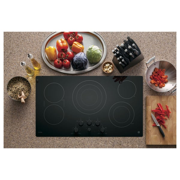 GE Profile 36-inch Electric Cooktop 19590562