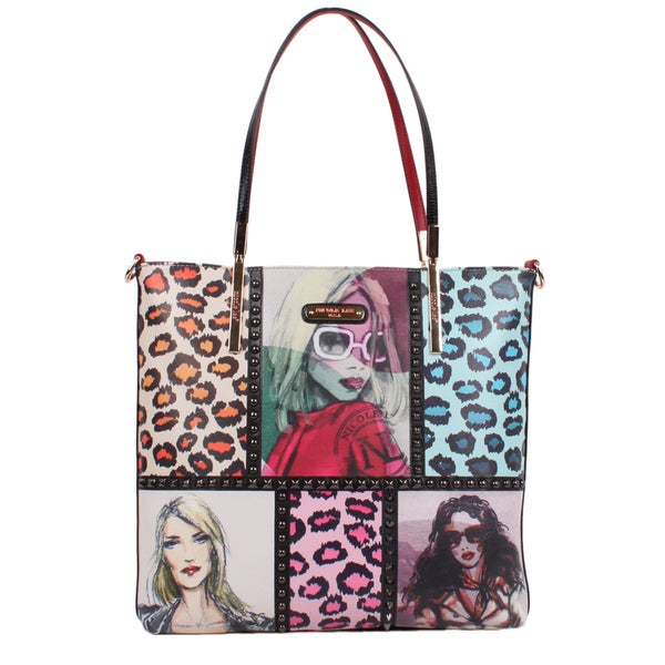 Nicole Lee Sketch Book Print Tote Bag