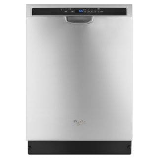 Whirlpool 24-inch Stainless Steel Built-in Full Console Dishwasher