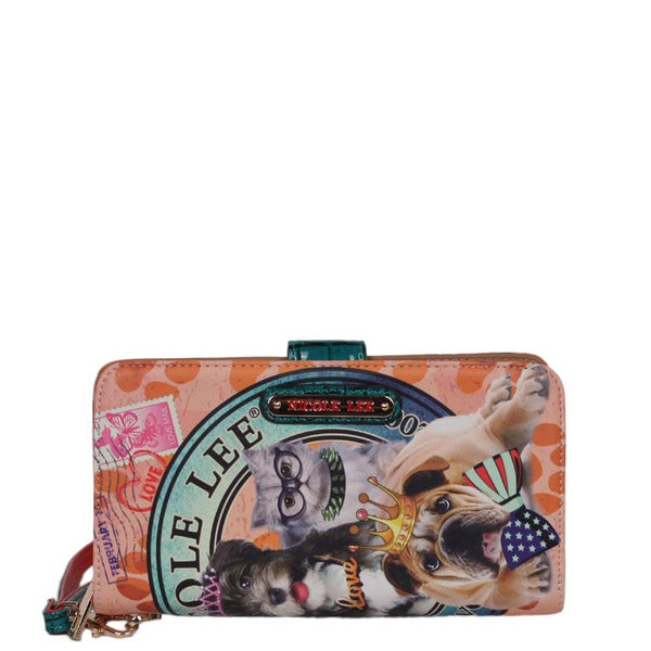 Nicole Lee World Tour Print Wallet