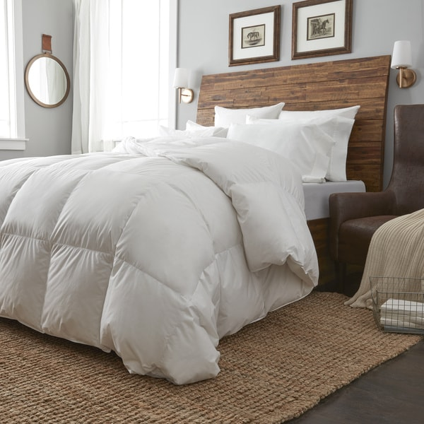 European Heritage Krakow White Goose Down Summer Weight Comforter