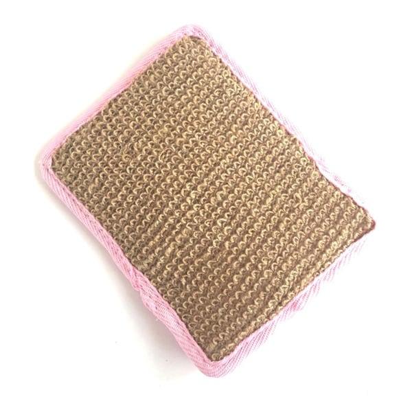 Terry Cloth Soap Bag