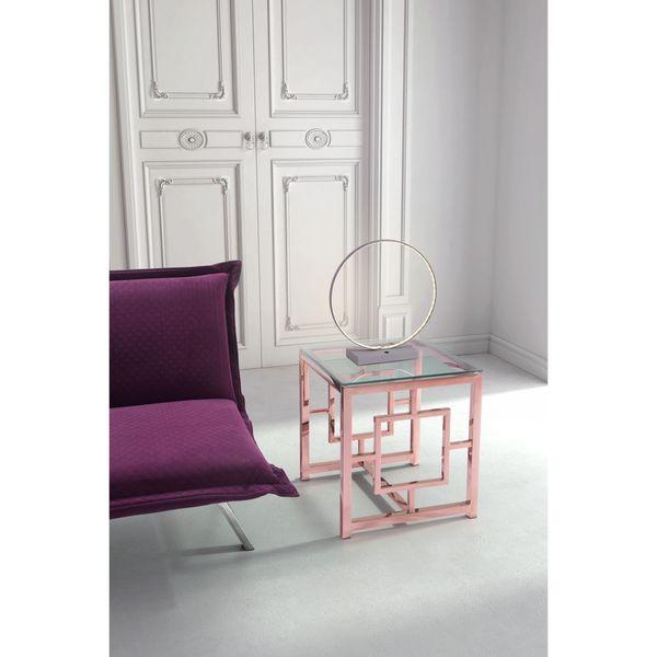 Pong Grey Metal Table Lamp