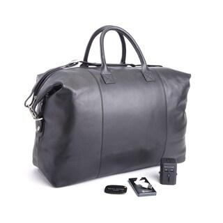 Royce Leather Duffel Bag Travel Set