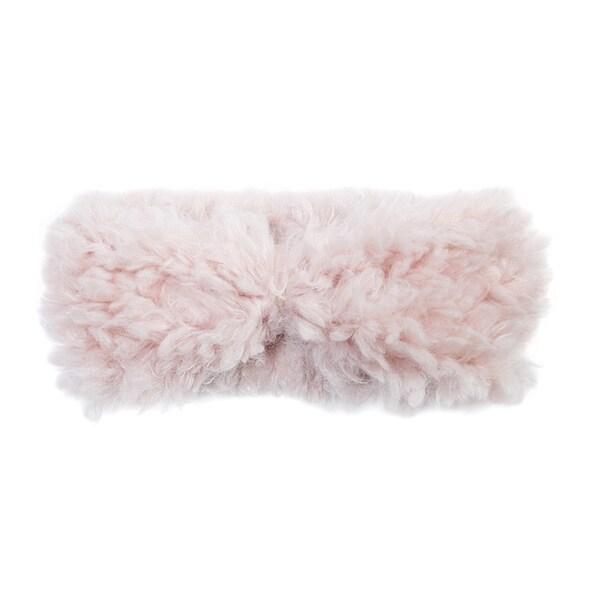 Muk Luks Women's Polyester Faux Fur Fluffy Romance Headband