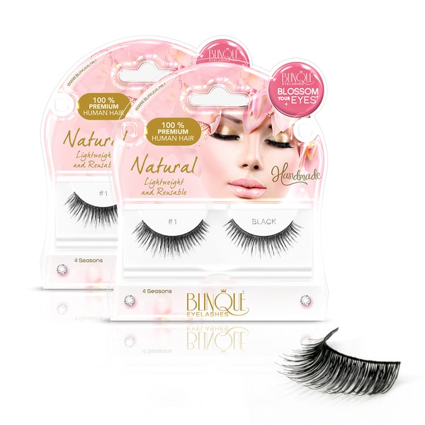 Blinque #1 False Eyelashes (Pack of 2)