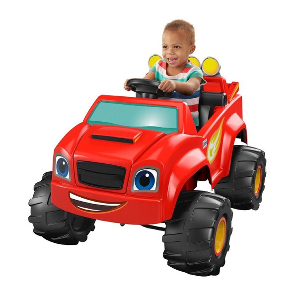 Power Wheels Nickelodeon Blaze Monster Truck