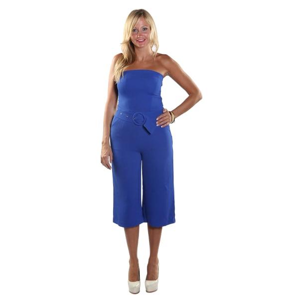 Hadari Women Strapless Jumpsuit