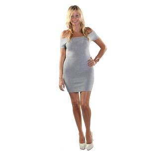 Hadari Women Open Shoulder Sheat Dress