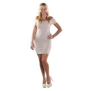 Hadari Women Off Shoulder Sheat Dress