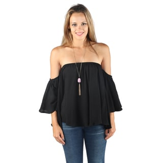 Hadari Women 3/4 Sleeve Off the Shoulder Blouse