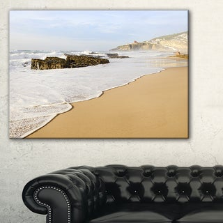 Magoito Beach Portugal - Seashore Canvas Wall Artwork