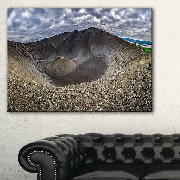 Volcano Crater Dimmu Borgir - Landscape Print Wall Artwork
