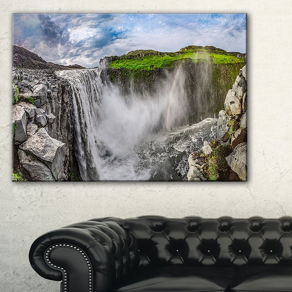 Awesome Dettifoss Waterfall - Landscape Print Wall Artwork