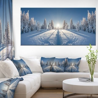 Majestic White Winter Landscape - Landscape Print Wall Artwork