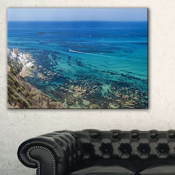 White Tip Agrigento in Sicily Italy - Landscape Print Wall Artwork