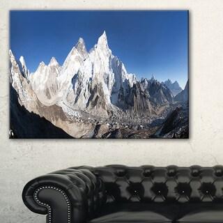 Mount Everest Glacier Panorama - Landscape Print Wall Artwork