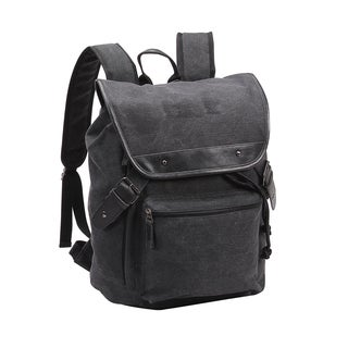 Preferred Nation Tahoe Black Canvas Backpack