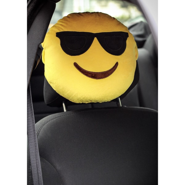 Emoji Design Head/Neck Rest Pillow
