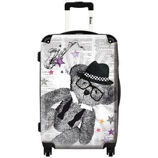 iKase 'Lulu Castagnette Ska' 24-inch Fashion Hardside Spinner Suitcase