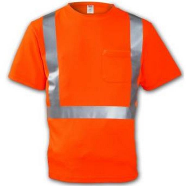 Class 2 T-Shirt - Fluorescent Orange-red