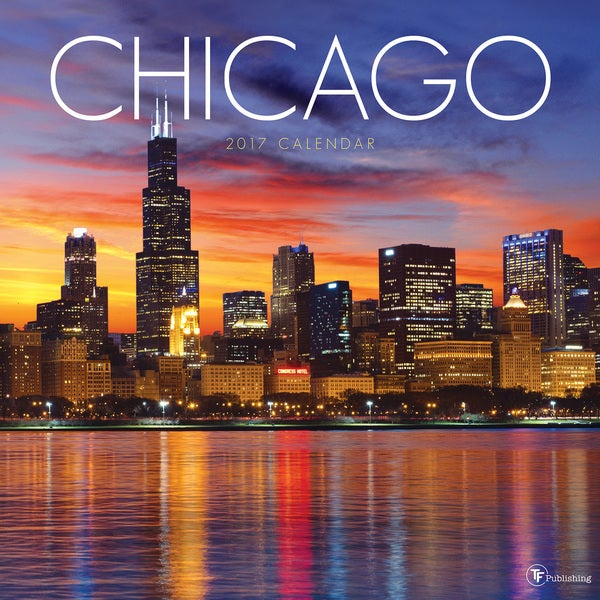Chicago 2017 Wall Calendar 19604748