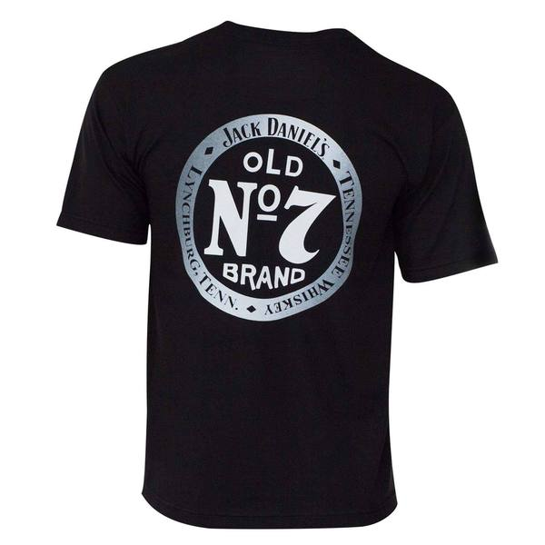 Jack Daniels Men's Black Old 7 T-shirt