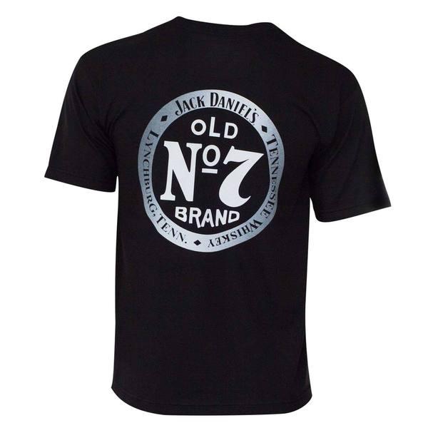 Jack Daniels Men's Black Old 7 T-shirt