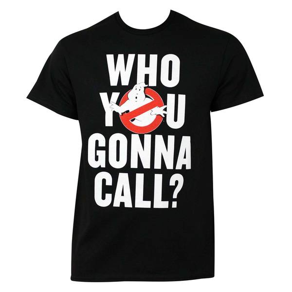 Ghostbusters Who You Gonna Call T-Shirt