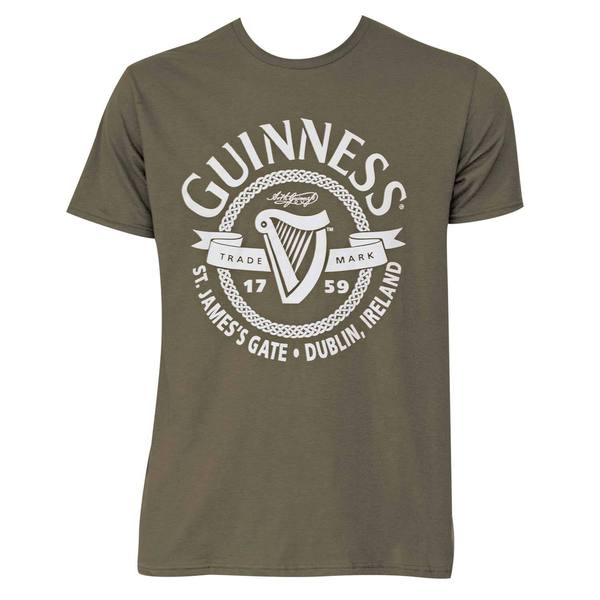 Guinness St. James Gate Green Cotton Short-sleeve T-shirt