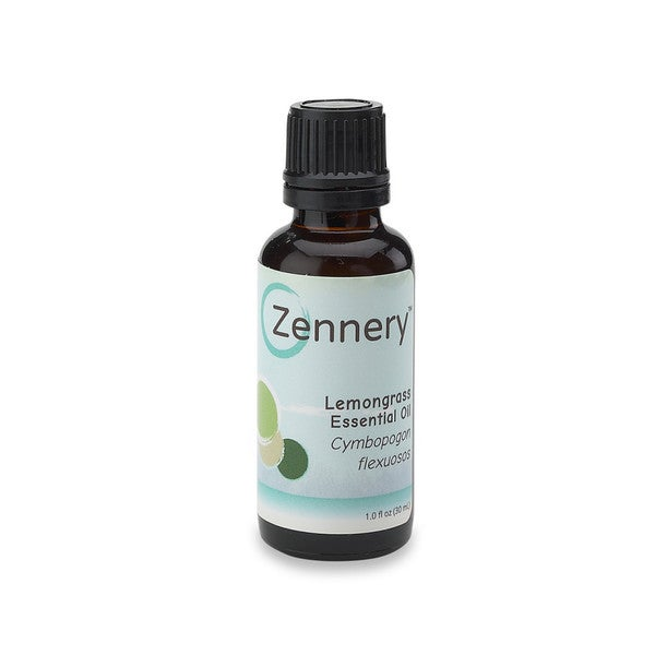 Zennery 1-ounce 100-percent Pure Lemongrass Essential Oil