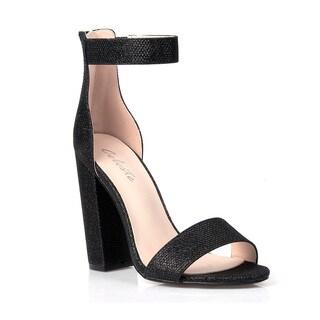 Celeste Constance-02 Shimmery Women's High Heel Sandals