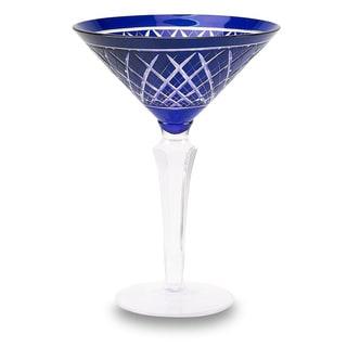 Glam Martini Cobalt (Set of 6)