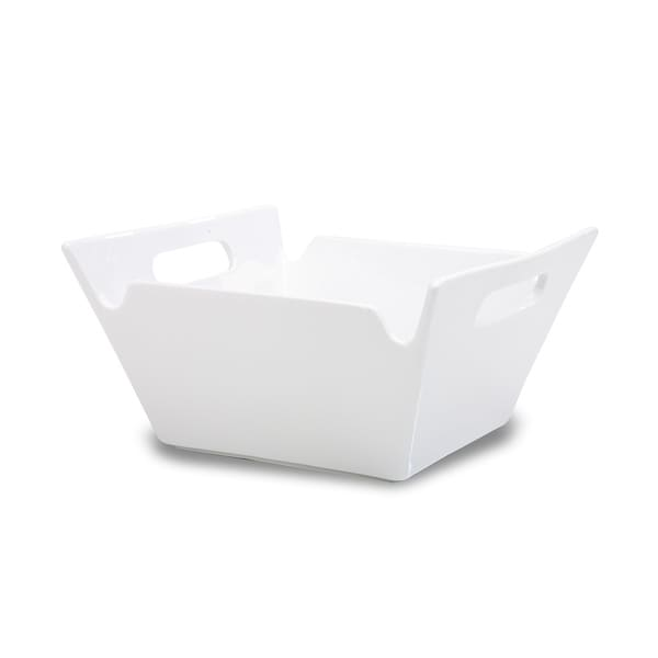 White Porcelain Large Lunchtime Bowl