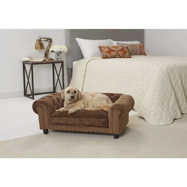 Enchanted Home Pet Melbourne Ultra-plush Tufted Cat/Dog Sofa
