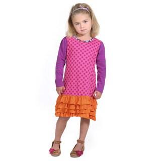 Trisha Polka-Dot Knit Dress
