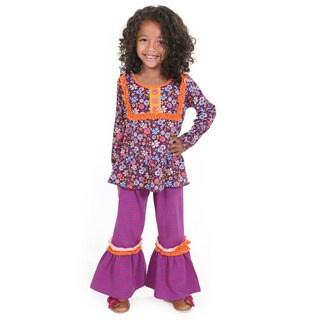 Abigail Floral Knit Set