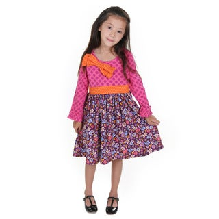 Isabella Floral Knit Dress