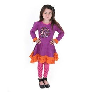Erica Girl's Cotton Knit Set