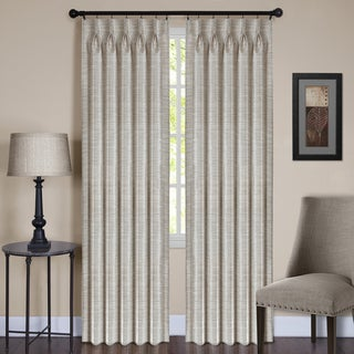 ACHIM Parker Polyester Pinch Pleated Window Curtain Panel