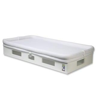 SafeSleep Breathable White Crib Mattress and Base