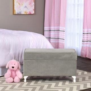 Homepop Kids Pink Medallion Print Chair 16902322