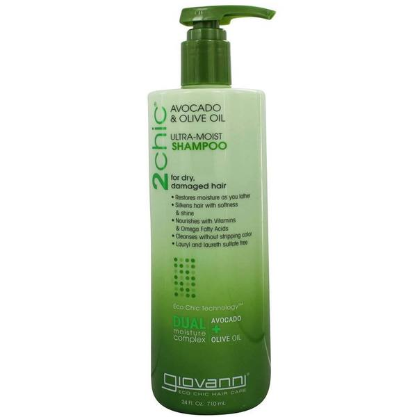 Giovanni Avocado/Olive Oil 24-ounce Ultra-Moist Shampoo