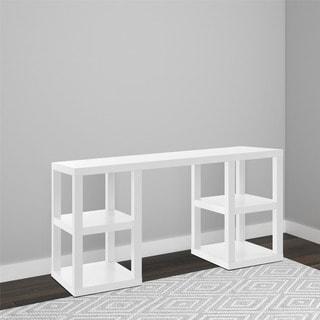 Altra Parsons White Deluxe Desk