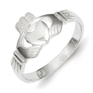 Sterling Silver Claddagh Ring Casted by Versil